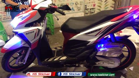 Stiker Cklik Vario honda click 125i new led click modified sticker in cambodia