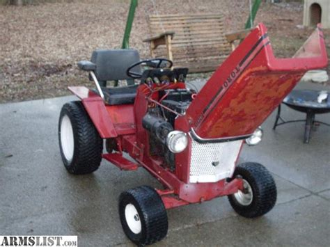 Toro Garden Tractor by Armslist For Sale Trade 1969 Toro Lawn Tractor