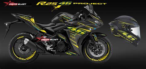 Yamaha Vr46 Harga Modifikasi Striping Yamaha R25 Black Ala Helmet Agv Vr46