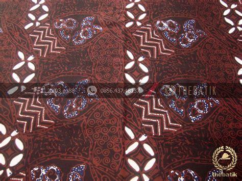 Batik Tulis Kombinasi Batik Cap jual kain batik cap tulis motif ceplok kombinasi sogan