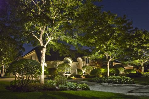 Landscape Accent Lighting Moon Lighting Outdoor Lighting In Chicago Il Outdoor Accents