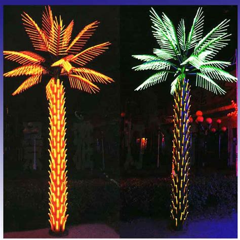 Palm Tree Lights Outdoor Led For Palm Tree L Led Artificial For Palm Tree L Large Outdoor Led Tree Light Jpg