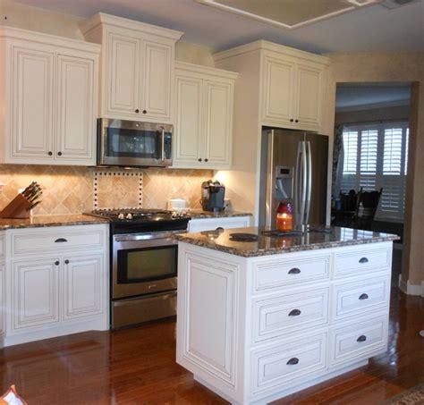 cream kitchen cabinets with glaze cream glazed cabinets