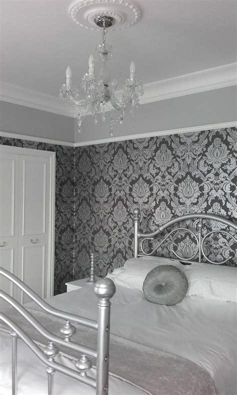 grey wallpaper ceiling best 25 damask wallpaper ideas on pinterest gold damask