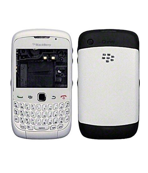 Hp Blackberry Curve 9300 White housing for blackberry curve 3g 9300 white mobile spare parts at low prices