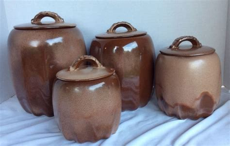 vintage ceramic kitchen canister set 2 1960 s handled 204 best pottery ceramic soup tureen canisters images on