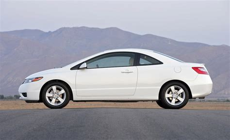 2008 Honda Civic Coupe Mpg Car And Driver