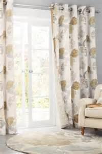Green Taffeta Curtains Buy Eyelet Lined Cream Curtains Curtains And Blinds From