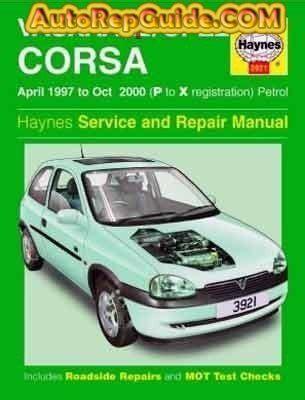 Download Free Opel Vauxhall Corsa 1997 2000 Workshop