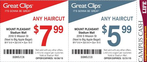 haircut coupons orlando great clips coupon code free coupons by mail for cigarettes