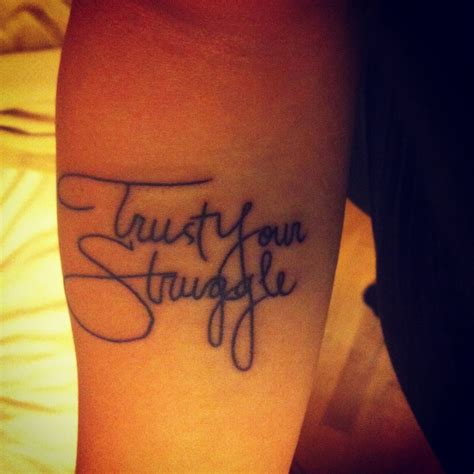 trust your struggle tattoo trust your struggle ideas