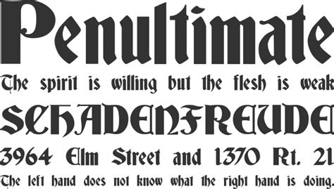 deutsch gothic font download free preview font deutsch gothic deutsch gothic font free by james fordyce 187 font squirrel