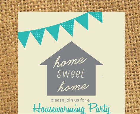 customizable invitation templates housewarming invitation template word indesign and psd