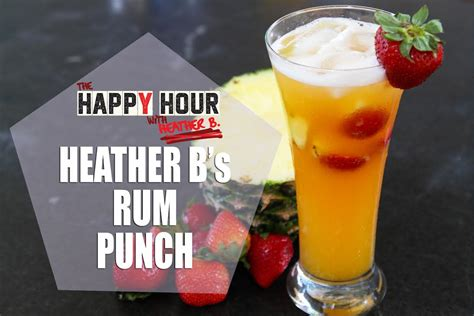 Happy Hour Baptist Punch by Hb S Rum Punch The Happyhour With B
