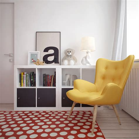 Yellow Occasional Chair Design Ideas Four Apartments From St Petersburg S Int2 Architecture