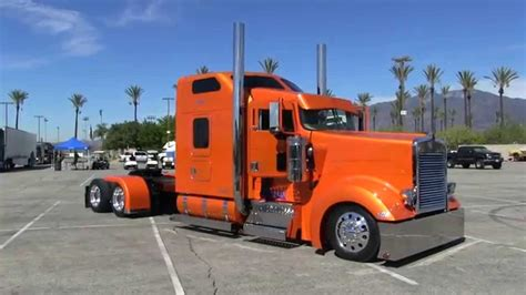 trucking companies with kenworth w900 rollin r enterprises 2005 kenworth w900l arriving at tfk