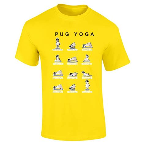 boys pug shirt pug yellow t shirt breeds picture