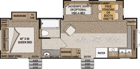 arctic fox rv floor plans building an arctic fox 29v