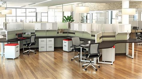 used office cubicle furniture dogbone cubicles your new and used office furniture in
