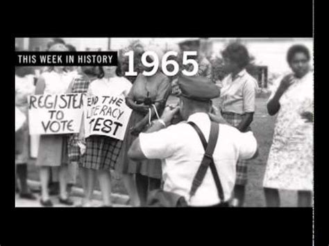 voting rights act of 1965 section 5 lyndon b johnson signs the voting rights act of 1965