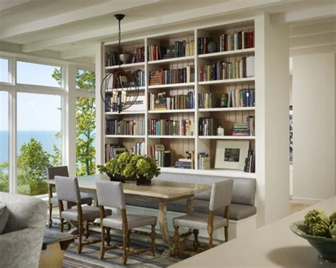 Bookshelves In Dining Room by Cute And Minimalist Dining Room Sets Furniture With
