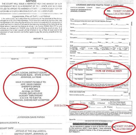 Does Class C Misdemeanor Show Up Background Check Tickets And Fines Jefferson Davis Parish Sheriff S Office