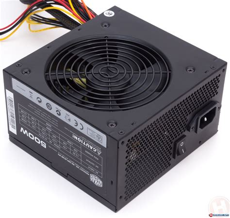 Coolermaster E Lite V2 500w three 500 watt psus tested antec vp550f cooler master b500 and nexus nx 5000 v1 cooler