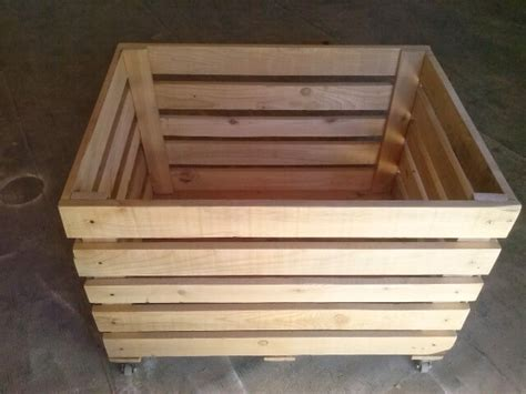 diy wooden pallet storage box 101 pallets