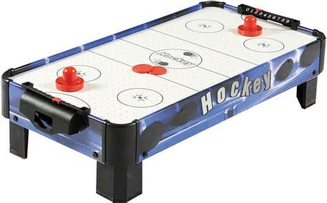 tabletop air hockey table carmelli blue line 32 quot table top air hockey table