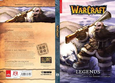 warcraft legends vol 3 leituras de bd reading comics lan 231 amento asa warcraft legends vol 3