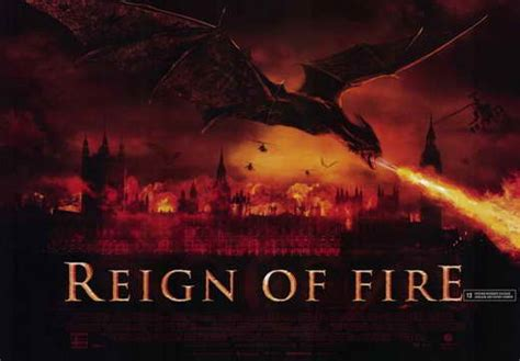 reign of fire 2002 the top 20 sci fi films of the reign of fire movie posters from movie poster shop