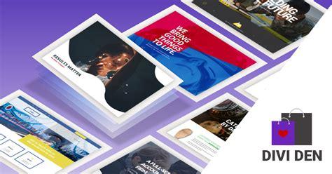 3d layout artist portfolio 3d portfolio divi layout pack complete portfolio
