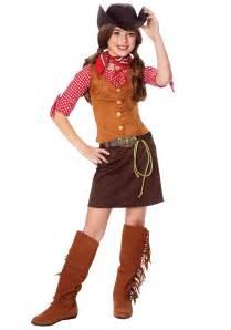cowgirl halloween costume girls gun slinger costume