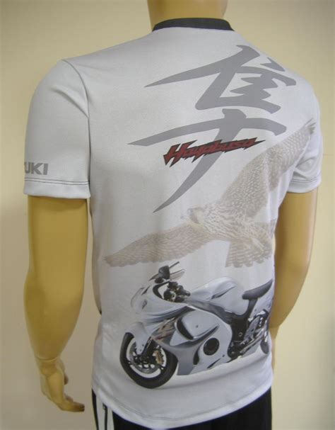 Suzuki Hayabusa T Shirts Suzuki Hayabusa T Shirt With Logo And All Printed