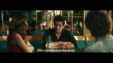 heineken commercial hero actress heineken tv spot famous featuring benicio del toro