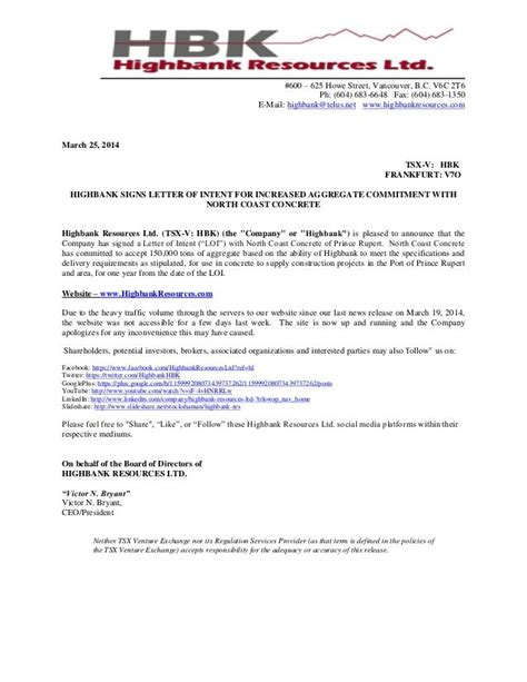 email letter intent letter intent letter writing