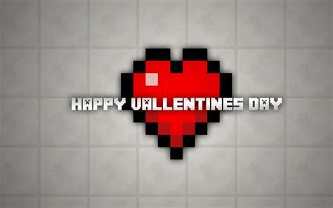 valentines day minecraft minecraft happy s day wallpaper