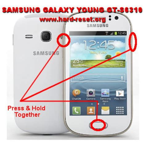 reset samsung galaxy y duos how to easily master format samsung galaxy y gt s6310