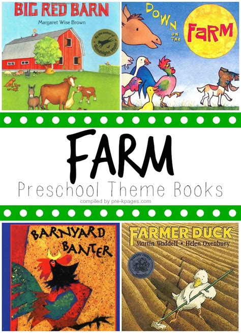 book themes for kindergarten farm theme picture books for preschool