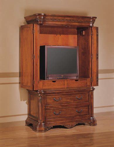 Cherry Wood Tv Armoire by Thomasville Armoire