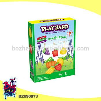 Play Sand Fresh Fruit Set educational play color sand fresh fruit for children 500g buy color sand play