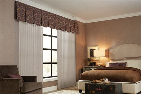 modern bedroom blinds vertical blinds cloth fabric valance graber bedroom