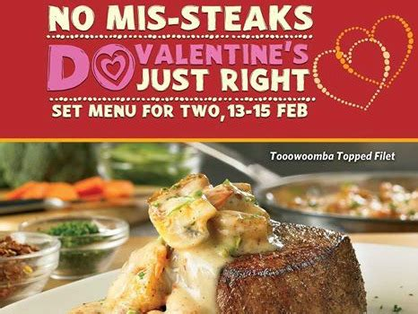 outback valentines special outback steak dinner for two at p1 995 00
