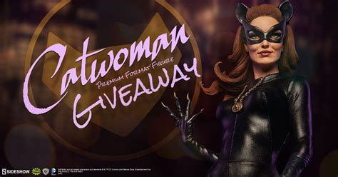 Premium Giveaways - catwoman premium format figure giveaway sideshow collectibles