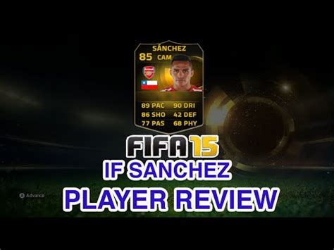 alexis sanchez fifa 18 review fifa 15 ultimate team if alexis s 225 nchez 85 player review