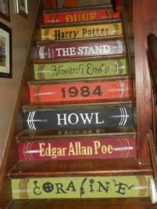Painted Wood Bookcase Ideas Para Decorar Las Escaleras Arte Y Decoracion