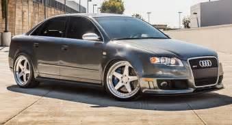 B7 Audi Audi Rs4 B7 Wearing 20 Quot Brushed Aluminum Wheels
