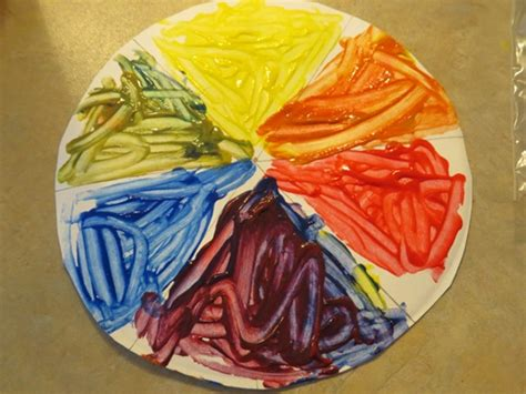 a lesson in color mixing teach preschool