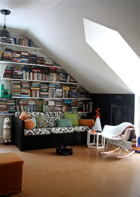 Attic Study Room by Cozy Attic Reading Room Now I Just Need The Attic Space