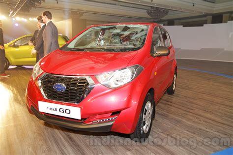 datsun redi go price range confirmed as inr 2 5 3 5 lakhs
